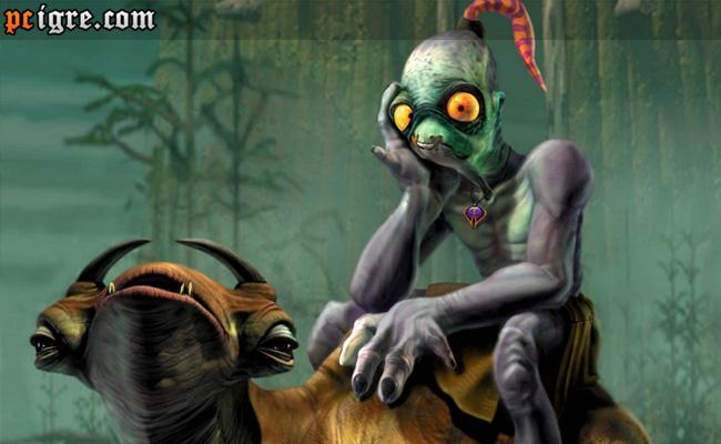 Oddworld Abe's Oddysee (PS1) rimejk