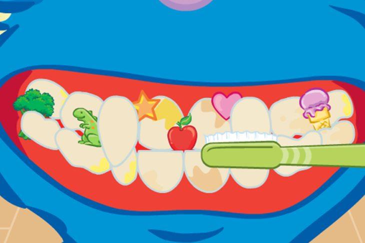 """Igrica """"Izbeljivanje zuba"""" - Zubarske igrice"""